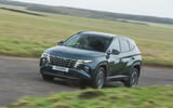 22 Hyundai Tucson 2021 road test review on road front