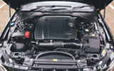 Jaguar XF Sportbrake 2019 road test review - engine
