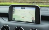 Kia Stinger GT line 2018 review infotainment map