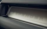 Land Rover Defender 2020 road test review - interior trim