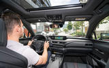 Lexus UX 2018 road test review - Dan Prosser driving