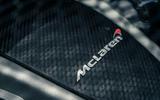 22 McLaren 620R 2021 road test review engine badge