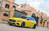 Mercedes-AMG A35 2018 review - on the road city