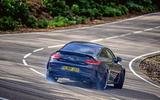 Mercedes-AMG C63 Coupé 2019 road test review - drift rear