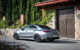 Mercedes-AMG CLA 45 S 2019 road test review - static rear