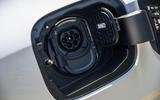 Mercedes-Benz A250e 2020 road test review - charging port