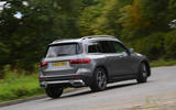 Mercedes-Benz GLB 2020 road test review - on the road rear