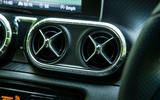 Mercedes-Benz X-Class road test review fan vents