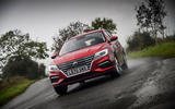 MG 5 SW EV 2020 Road test review - on the road front