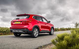 MG HS 2019 road test review - static rear