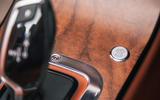 Morgan Plus Six 2019 road test review - sport button