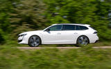 Peugeot 508 SW 2019 review - on the road side