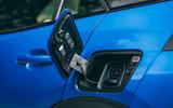 Peugeot e-2008 2020 road test review - charging port