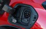 Peugeot e-208 2020 road test review - charging port
