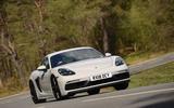 Porsche 718 Cayman GTS 2018 review cornering