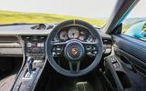 Porsche 911 GT2 RS 2018 road test review dashboard