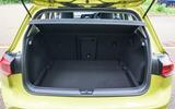 Volkswagen Golf 2020 road test review - boot
