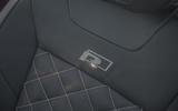 Volkswagen T-Roc Cabriolet 2020 road test review - seat details
