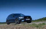 Volvo V90 T6 Recharge PHEV 2020 road test review - static