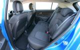 Kia Sportage rear seats