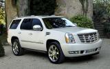 Cadillac Escalade front quarter