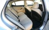 Kia Optima 2.4 Hybrid rear seats