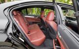 Lexus GS 450h rear seats