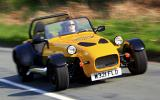 Westfield 1600 Sport Turbo front quarter