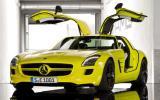 Mercedes-AMG SLS E-Cell doors open