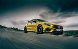 Mercedes-AMG A45 S 4Matic+ 2020 road test review - on the road dark