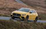 Mercedes-AMG A45 S 4Matic+ 2020 road test review - on the road front