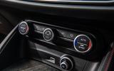 Alfa Romeo Stelvio Quadrifoglio 2019 road test review - climate controls