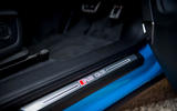 Audi RS Q3 Sportback 2020 road test review - scuff plates