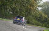 Audi S3 Sportback 2020 road test review - cornering rear