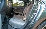 Audi S4 TDI 2019 road test review - rear seats