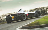 BAC Mono 2018 review - cornering rear