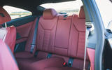 23 BMW 4 Series M440i road test review 2021 rear seats