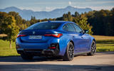 23 BMW i4 M50 2021 first drive review static rear