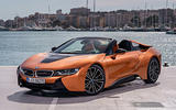 BMW i8 Roadster 2018 review static front