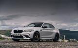 BMW M2 CS 2020 road test review - static