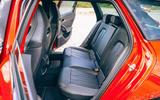 23 Cupra Leon Estate 2021 road test review rear seats