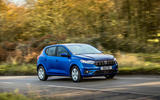 23 dacia sandero tce 90 2021 uk first drive review otr front