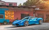Ferrari F8 Tributo 2019 road test review - static front