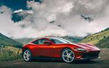 Ferrari Roma 2020 road test review - static