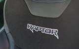 Ford Ranger Raptor 2019 road test review - seat details