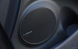 Hyundai Kona Electric 2018 road test review - speakers