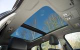 Hyundai Santa Fe 2019 road test review - sunroof