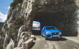 Jaguar F-Pace SVR 2019 first drive review - tunnel