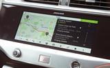 Jaguar I-Pace 2018 road test review infotainment