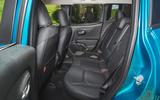 23 Jeep Renegade 4xe 2021 RT rear seats